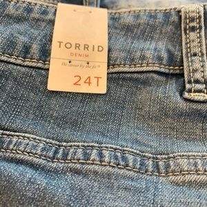 torrid Jeans - Torrid Slim Boot Jeans Size 24Tall New With Tags